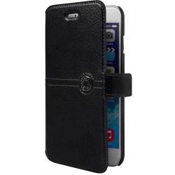 Etui cuir original noir FACONNABLE pour iPhone 5 et 5S