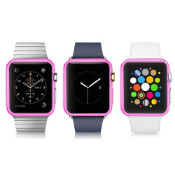 Coque silicone transparente pour Apple IWATCH 38 mm