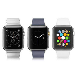 Coque silicone transparente grise IWATCH 38 mm