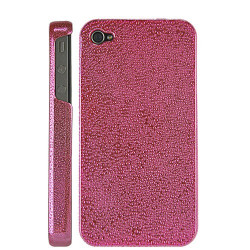 Coque WATER rose pour iphone 4 et 4S
