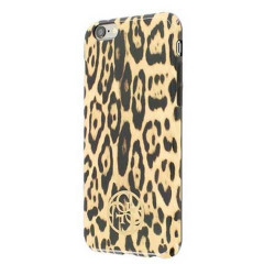 Coque arriere rigide Leopard GUESS iPhone 6/6S