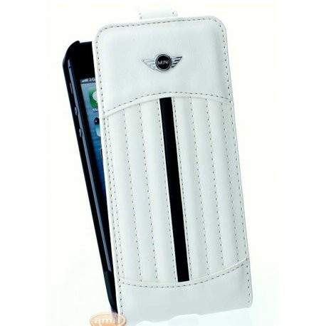 Housse etui folio mini blanc iphone 5 5s se for Etui housse iphone 5