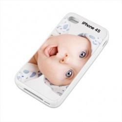 Coques PERSONNALISEES transparentes pour iPhone 4 et 4S