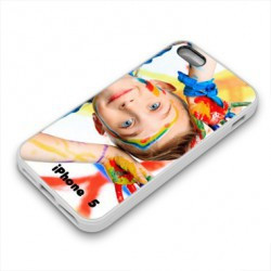Coques PERSONNALISEES CARBONE pour iPhone 5 5S et iPhone SE