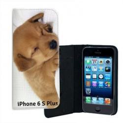 Etui cuir personnalisé pour iPhone 6 plus et 6 plus S