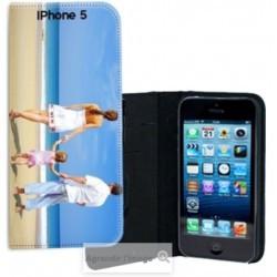 Etui cuir personnalisé pour iPhone 5, 5s et iPhone SE