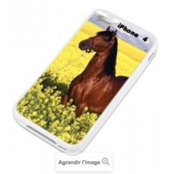 Coques PERSONNALISEES en silicone pour iPhone 4 et 4S