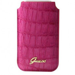 HOUSSE ETUI POUCH Rose GUESS