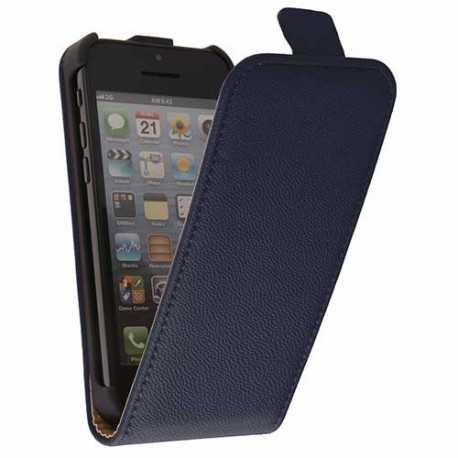 etui rabattable2 bleu pour iphone 5c. Black Bedroom Furniture Sets. Home Design Ideas
