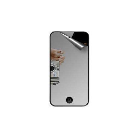 film de protection miroir anti reflets et anti rayures pour ipod touch 4. Black Bedroom Furniture Sets. Home Design Ideas