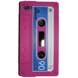 Coque K7 rose pour Iphone 4 et 4S