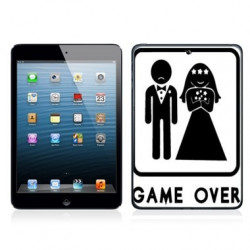 Coque GAME OVER pour iPad Air 1