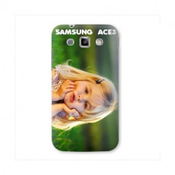 Coques PERSONNALISEES pour SAMSUNG GALAXY ACE 3