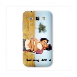 Coques Transparente PERSONNALISEES pour SAMSUNG GALAXY ACE 4