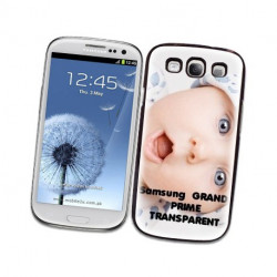 Coques Transparentes PERSONNALISEES pour SAMSUNG GALAXY GRAND PRIME