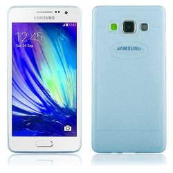 Coque souple SHINE bleue pour Samsung Galaxy A5