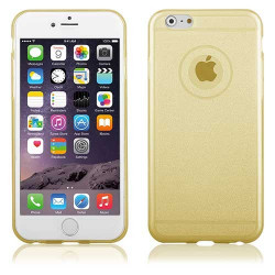 Coque SHINE or pour iPhone 6+ et 6+S