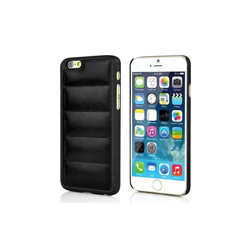 coque rigide luxury noire pour iphone 6 et 6s. Black Bedroom Furniture Sets. Home Design Ideas