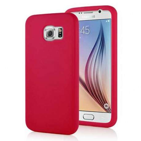 coque galaxy s6 rouge