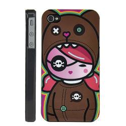 "Coque beauty "" pirate "" pour Iphone 4 et 4S"