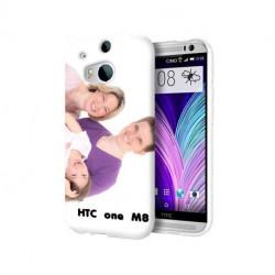 Coques transparentes personnalisées pour HTC M8
