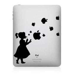 Stickers PETITE FILLE pour IPad et macbook