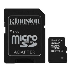 KINGSTON Carte mémoire micro SD 8 Go Classe 4 Garantie a vie
