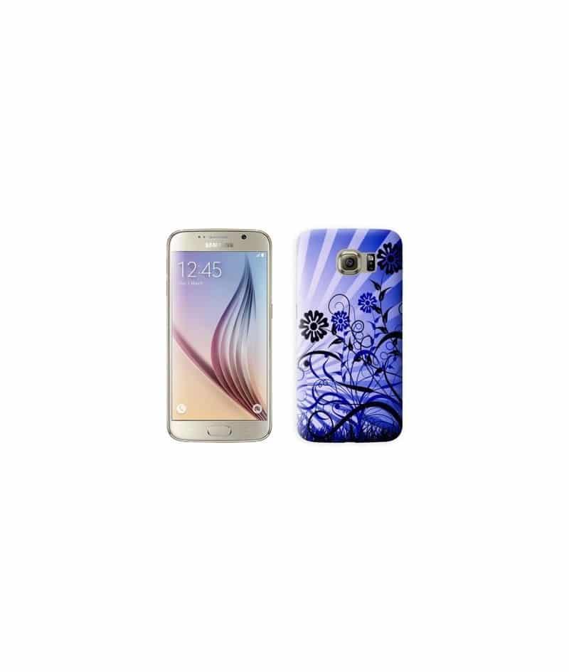 Coque COUCHER SOLEIL BLEU pour Samsung Galaxy S7
