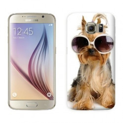 Coque CRAZY DOG pour Samsung Galaxy S7 EDGE