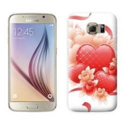 Coque COEUR RUBAN pour Samsung Galaxy S7 EDGE