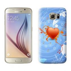 Coque COEUR MUSIC pour Samsung Galaxy S7 EDGE
