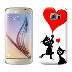 Coque CAT LOVER pour Samsung Galaxy S7 EDGE