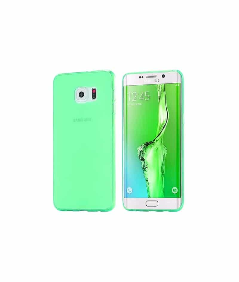 coque silicone crystal verte pour samsung galaxy s7. Black Bedroom Furniture Sets. Home Design Ideas