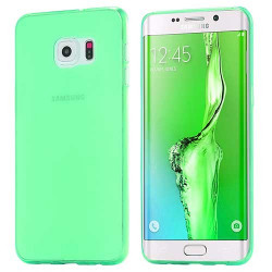 coque silicone crystal verte pour samsung galaxy s7 edge. Black Bedroom Furniture Sets. Home Design Ideas