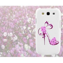 Coque TALON AIGUILLE FLEURS pour Samsung Galaxy A8