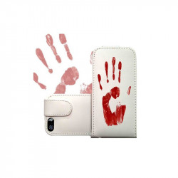 ETUI CUIR BLOOD POUR IPOD TOUCH 6