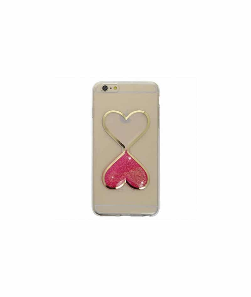 coque sablier paillete rose pour iphone 5 5s 5c se. Black Bedroom Furniture Sets. Home Design Ideas