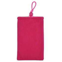 Pochette rose universelle ( mod 10 ) pour telephones et lecteurs mp3