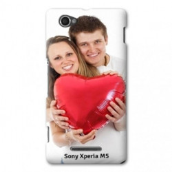 Coques PERSONNALISEES pour SONY XPERIA M5