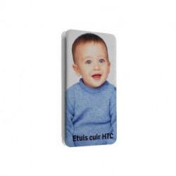 Etuis Cuir PERSONNALISES pour HTC ONE A9
