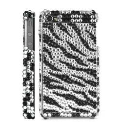 Coque Diamond noir et argent pour Iphone 4 et 4S