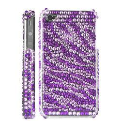 Coque Diamond mauve pour Iphone 4 et 4S