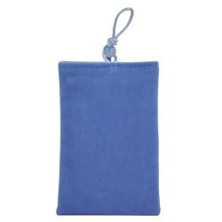 Pochette bleue universelle ( mod 12 ) pour telephones et lecteurs mp3