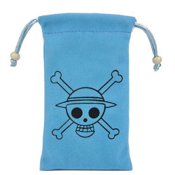 Pochette bleue universelle ( Bones ) pour telephones et lecteurs mp3
