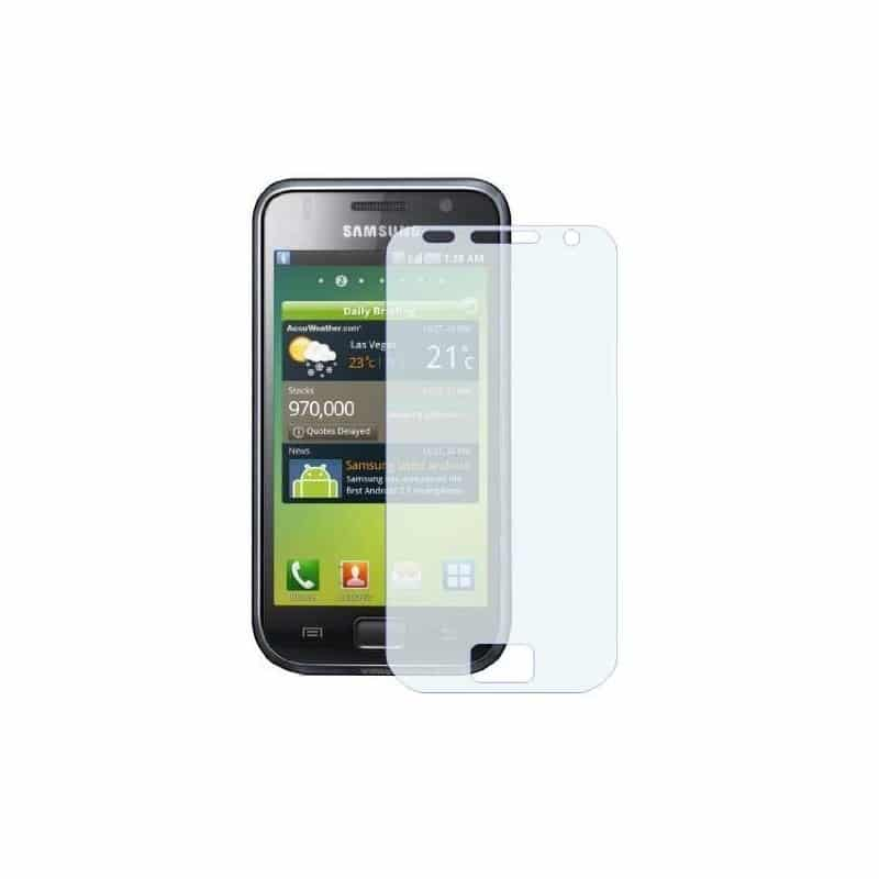 film de protection anti rayures et anti reflets pour samsung galaxy s. Black Bedroom Furniture Sets. Home Design Ideas