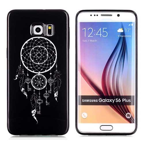 Coque souple ATTRAPE REVE noire pour Samsung Galaxy S6 EDGE PLUS 6,...