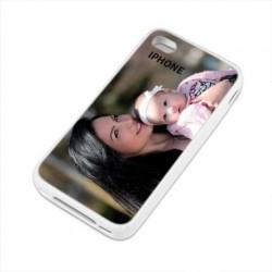 Coques souples PERSONNALISEES en Gel silicone pour iPhone 4/4S