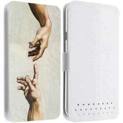 Etui portefeuille Cuir FANTASY 8 pour les telephones SAMSUNG