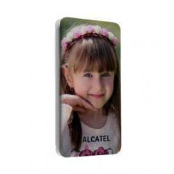 Etuis Cuir PERSONNALISES pour ALCATEL idol S