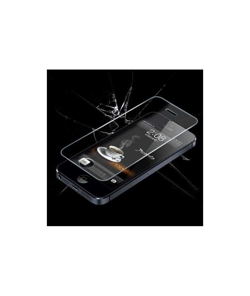 protection d 39 cran en verre tremp glass premium pour iphone 7. Black Bedroom Furniture Sets. Home Design Ideas
